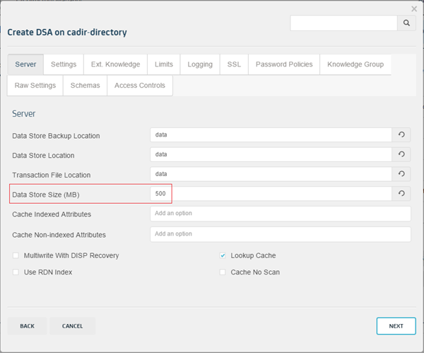 Creating and Configuring CA Directory