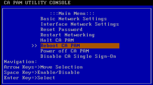 Power, Reboot and FIPS Mode Controls