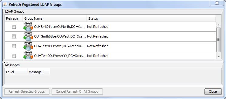 Import LDAP User Groups