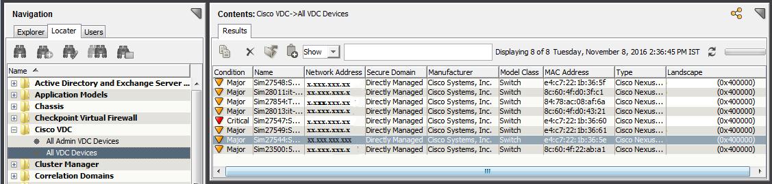 Cisco Nexus devices that support Virtual Device Context (VDC)