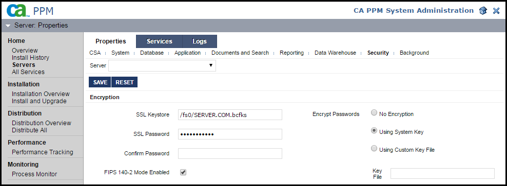 CSA: Security, Passwords, LDAP, SSL, SSO, XSS, and FIPS