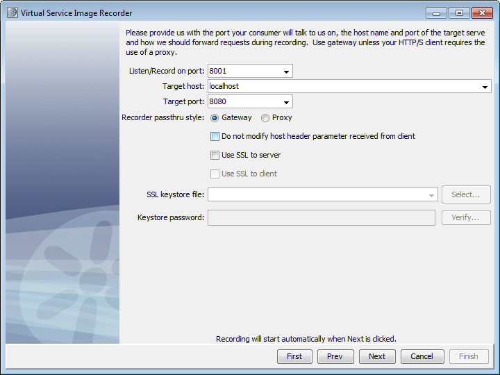 Step 7 - Configure the VSE Recorder