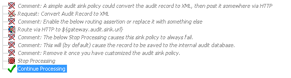 Disabled assertions in Audit Sink Policy.png
