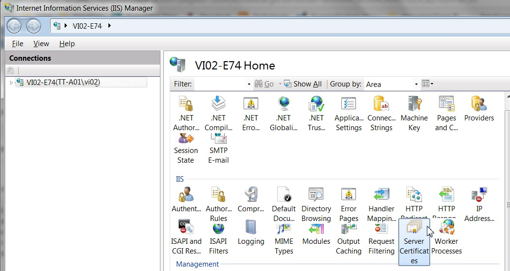 Support for TLS v1 2 (Microsoft SQL Server)